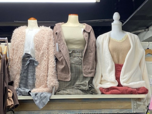 レディースファッションのメンズファッション
