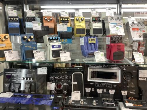中古エフェクターのトレファク中古楽器強化店舗