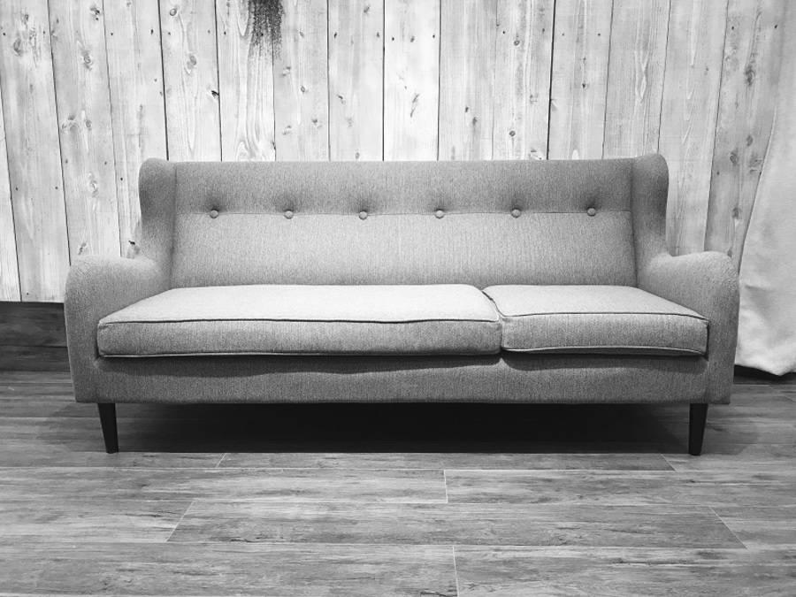 美しい曲線。Francfranc(フランフラン)の3人掛けソファをご紹介。【TFMおゆみ野】