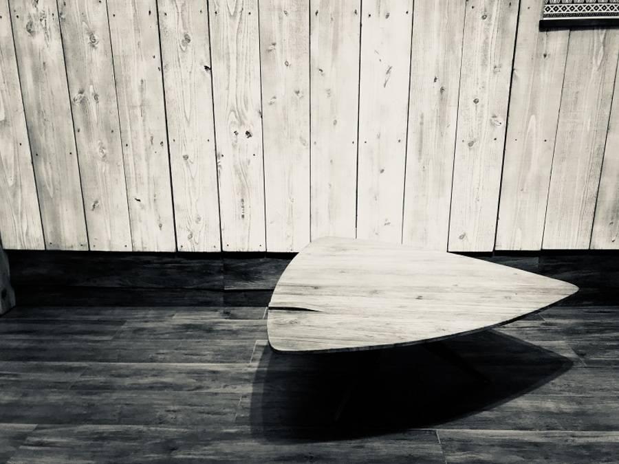 自然に配慮した木材。d-Bodhi(ディーボディ)の古材コーヒーテーブルをご紹介。【TFMおゆみ野店】