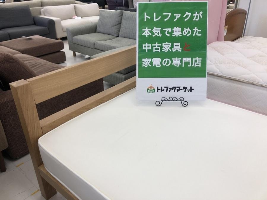 無印良品やunico(ウニコ)など! シングルベッド~ダブルベッドまでお買い得な中古ベッド取り揃えております!