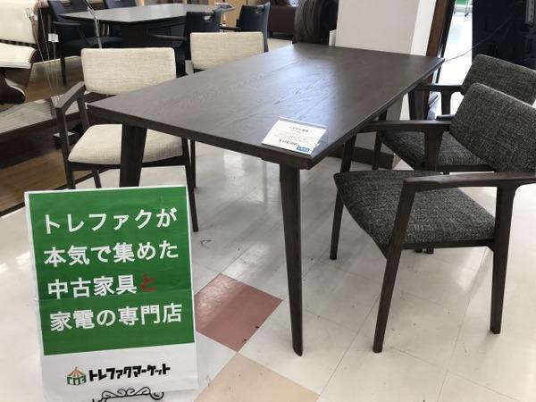 【シギヤマ家具】未使用品のダイニング5点セット(COSETTE)が入荷しました!