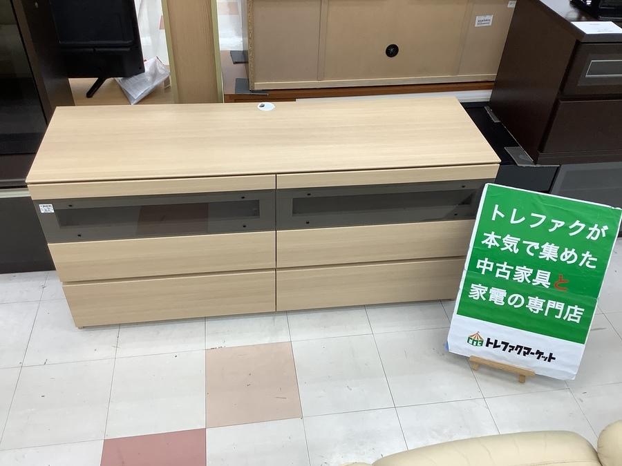 【スマホで購入OK!】Pamouna (パモウナ) テレビボード ナチュラル ロータイプ GV-160が入荷しました!【トレファクマーケット千葉おゆみ野店】