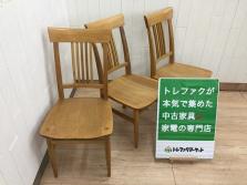 柏木工 杜シリーズ OC11 ダイニングチェアをご紹介♪ ブランド家具も中古でお得に取り揃えております♪