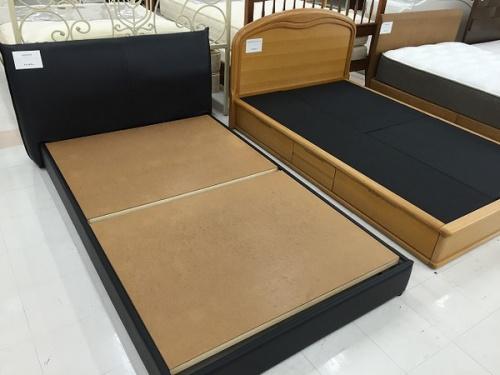 中古マットレスのベッド