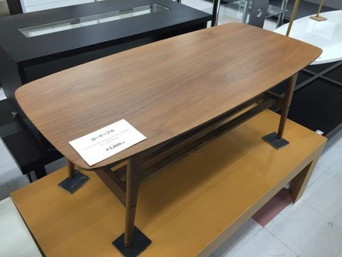 ローテーブルの中古 テーブル
