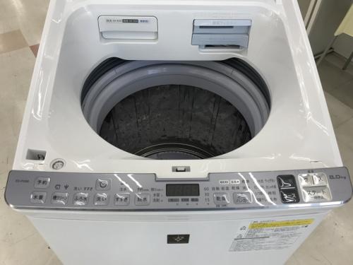 洗濯機 シャープの中古 家電 千葉