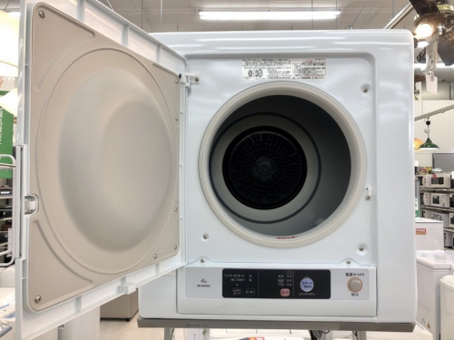 衣類乾燥機の洗濯機