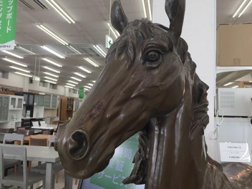 中古 家具 千葉の置物 馬