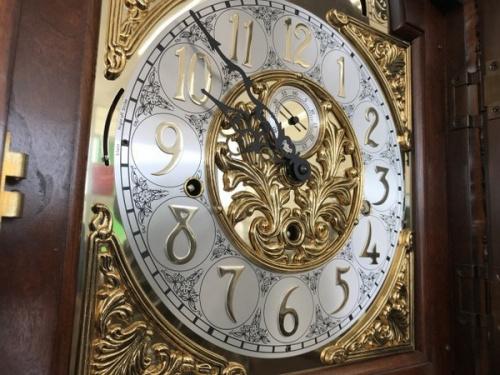 ホールクロックの時計