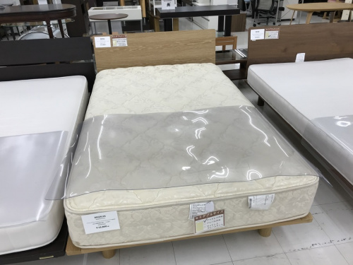 ベッド 無印良品のベッド マットレス