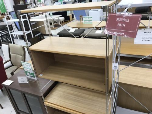 無印良品 テーブルの無印良品 シェルフ