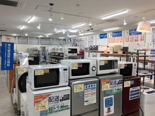生活家電・家事家電の一人暮らし 大阪 リサイクルショップ