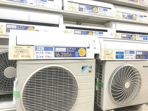 生活家電のエアコン