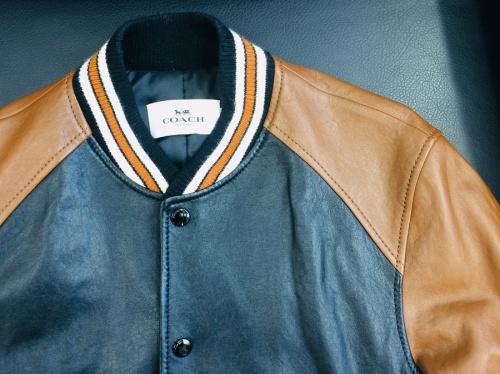 レザースタジャンのジャケット