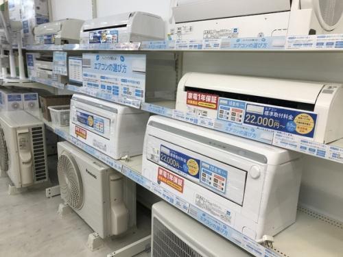 中古家電 大阪の中古エアコン 大阪