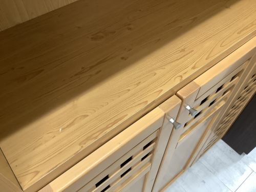 家具 買取 大阪の収納棚