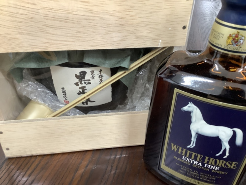 未使用品の古酒買取 大坂