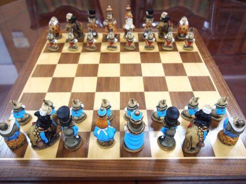 チェスのボードゲーム