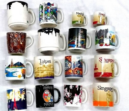STARBUCKS COFFEEのマグカップ