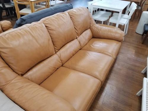 レザーワールドのソファー
