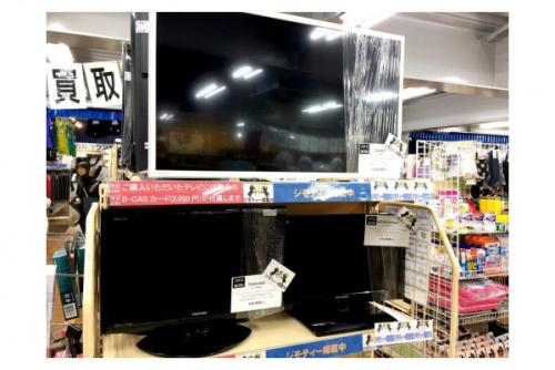 液晶テレビの買い替え