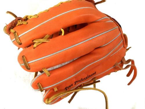グローブの野球