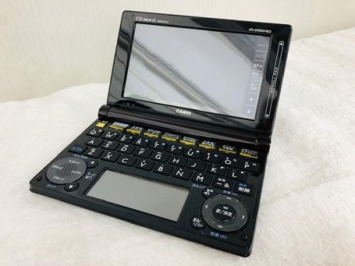 デジタル家電の電子辞書 CASIO