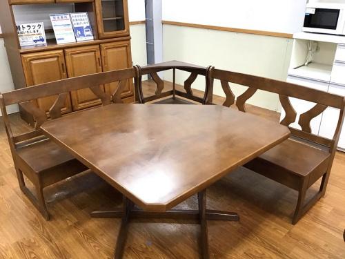 藤沢 中古家具の藤沢 中古 ダイニングセット テーブル