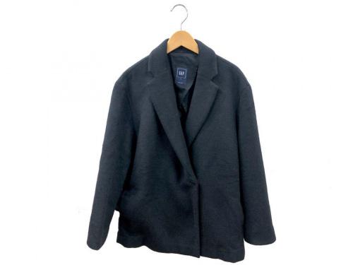 ダウンジャケットのウールコート