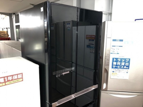生活家電の冷蔵庫 6ドア