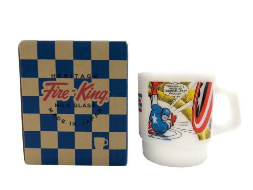 マグカップのFire King(ファイヤーキング)