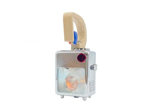 白光電器工業の小型合図燈 検査燈兼用 57年9月製造