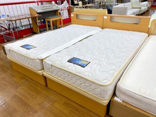 ダブルベッドのシングルベッド
