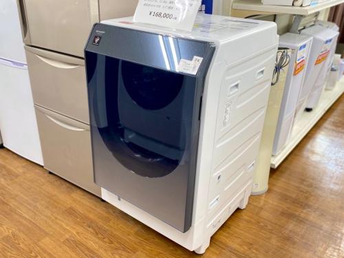 藤沢 中古家電 のドラム式洗濯乾燥機