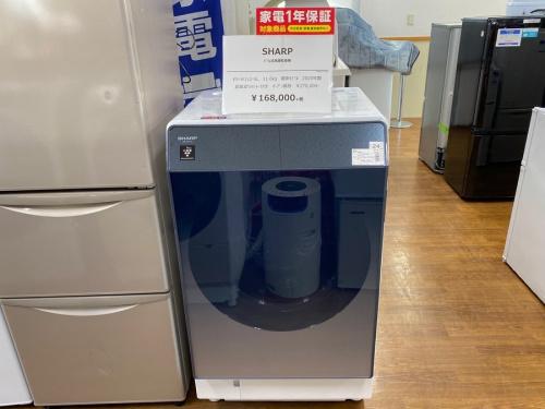ドラム式洗濯乾燥機の洗濯機