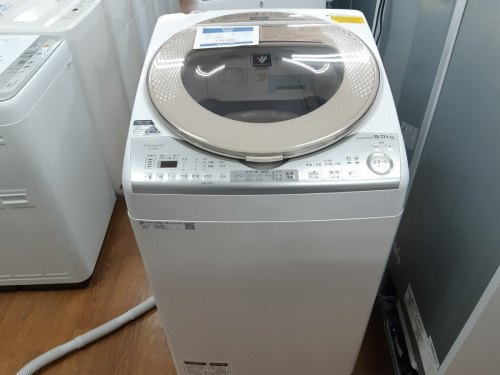 洗濯機の乾燥機能付