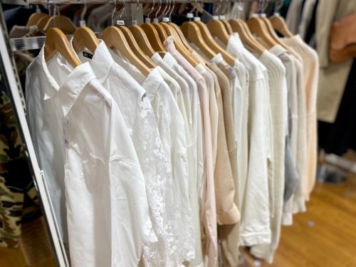 メンズファッションの春物衣類