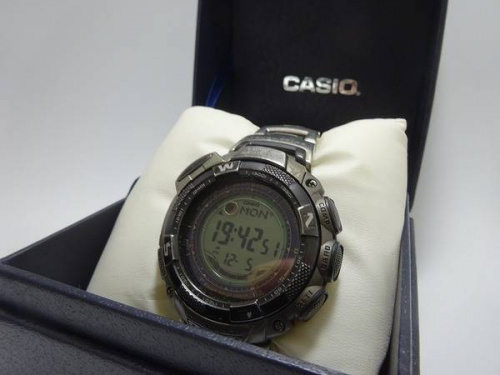 腕時計のPRO TREK