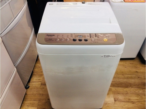 洗濯機のパナソニック 全自動洗濯機