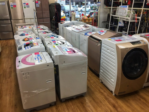 HITACHI ドラム式洗濯乾燥機 大阪の洗濯乾燥機 取扱い 大阪