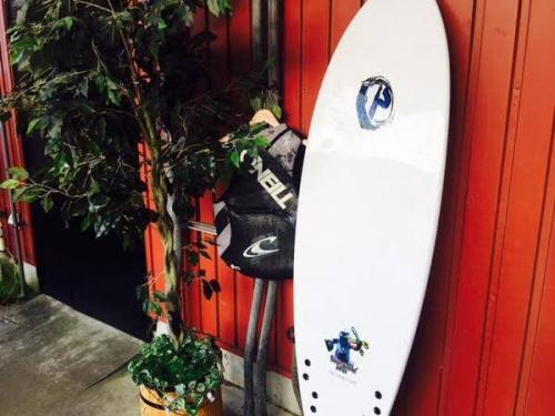 シーズンスポーツのサーフィン