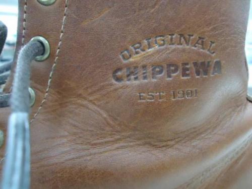 ブーツのチペワ(CHIPPEWA)