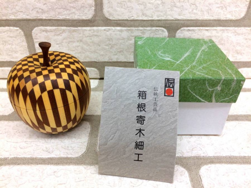 小物入れの寄木細工 箱根伝統工芸