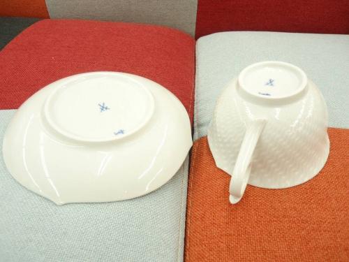 Meissen マイセンのカップ&ソーサーセット