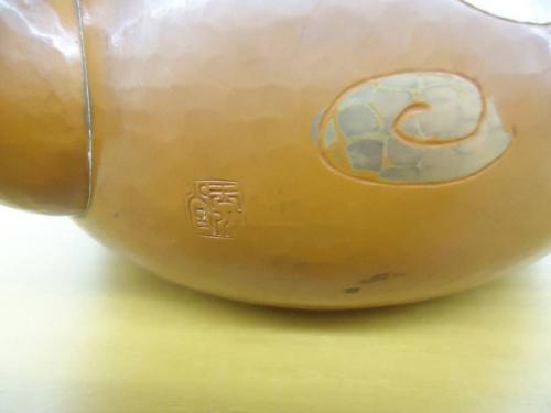 和食器の玉川堂の銅製湯罐
