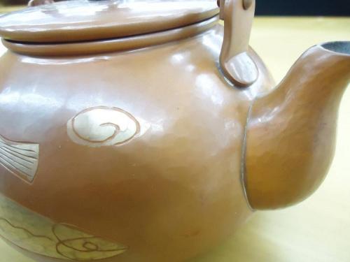 玉川堂の銅製湯罐