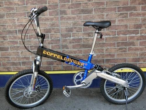 スポーツ用品の折りたたみ自転車