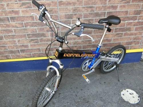 折りたたみ自転車のDOPPELGANGER(ドッペルギャンガー)