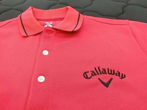 ゴルフ場 ゴルフウェア のCallaway ゴルフポロシャツ